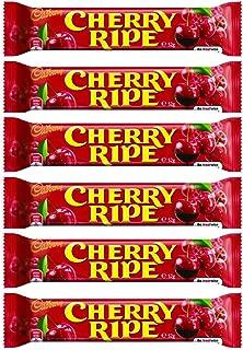 Cadbury Cherry Ripe 52 Gram Bar (6 Pack)