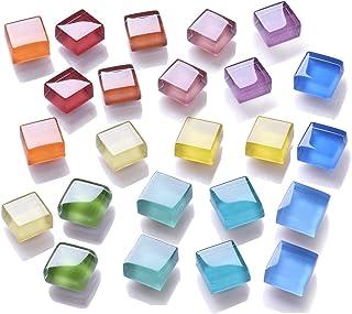 Mymazn Aimants de réfrigérateur, Aimants de réfrigérateur en Verre, Aimants de Bureau Aimants de Cuisine Colorés Décoratio...
