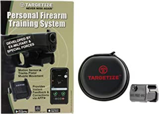 TARGETIZE Personal Firearms Training System Motion Muzzle Sensor With Live Feedback and Sight Correction Phone APP Best Gun Lover