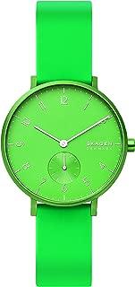 Skagen Women's Quartz Watch analog Display and Silicone Strap, SKW2819
