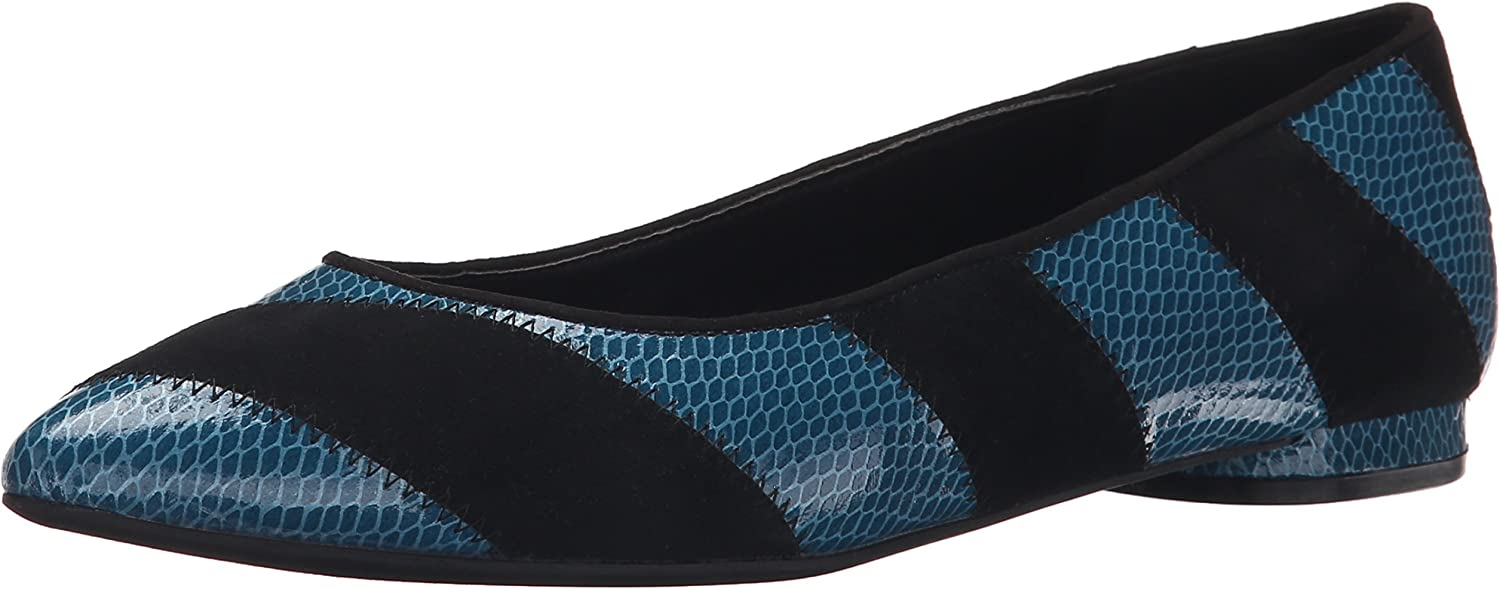 Nine West Women's Outnow Synthetic Ballet Flat
