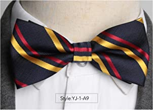 Mens Bowtie Fashion Necktie Man Shirt Accessories Gift Ties for Men Bow Tie Formal Dress Wedding Ties