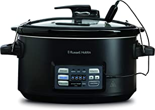 Russell Hobbs RHSV6000 Master Slow Cooker and Sous Vide, Black