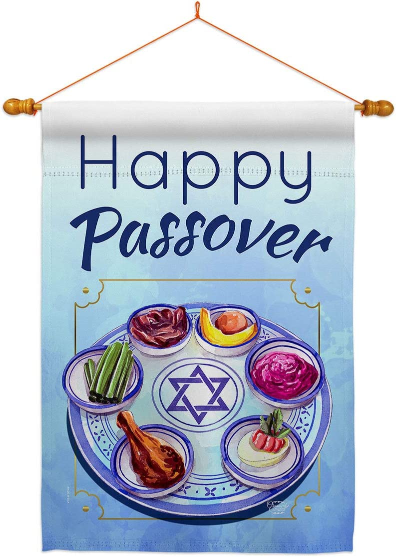 Ornament Collection Happy Passover House Flag Ranking TOP20 Set Dowel Religiou overseas