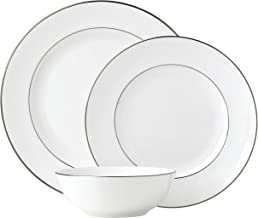 Lenox Continental Dining Platinum 3 Piece Place Setting dinnerware sets