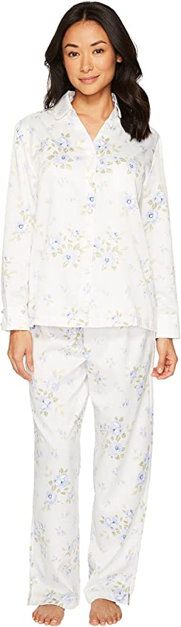 Carole Hochman - Brush Back Satin Pajama