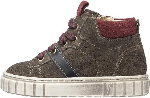 Nero giardini junior sneakers bambino in pelle scamosciata A923700M