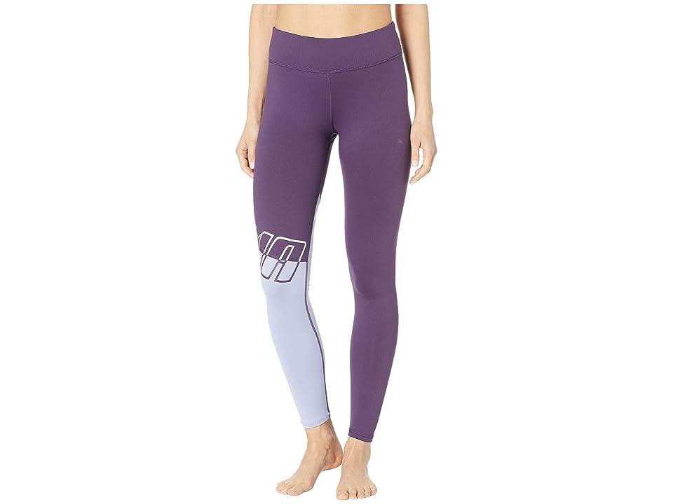 PUMA All Me 7/8 Tights (Indigo/Sweet Lavender) Women