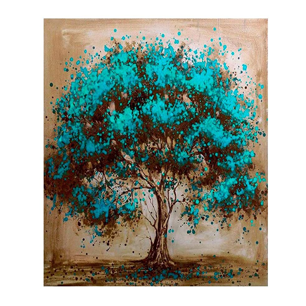 DIY Paint by Numbers for Adults Kids Tree Paint by Numbers DIY Painting Acrylic Paint by Numbers Painting Kit Home Wall Living Room Bedroom Decoration Tree