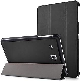 Mama Mouth Samsung Galaxy Tab E 9.6 Ultra Funda, Ultra Slim Ligera PU Cuero con Soporte Funda Caso Case para 9.6