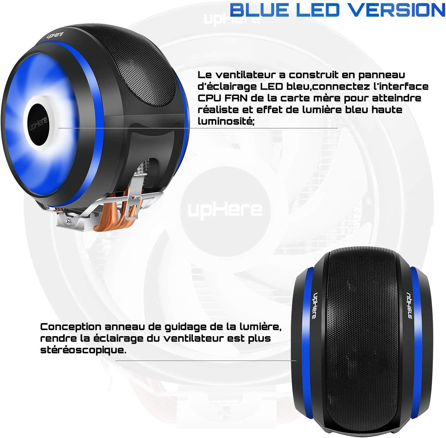 upHere parent-AC12RD//CCF150 CCF150BE-Bleu CCF150-120mm