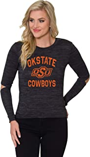 Flying Colors NCAA Collection OSU Cowboys   The Dylan - Soft Relaxed Fit Top