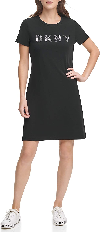 DKNY Women's Logo T-Shirt Dress