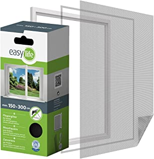 comprar comparacion Mosquitera para ventana de 300 x 150 cm de insectos de la protección de la ventana se puede cortar