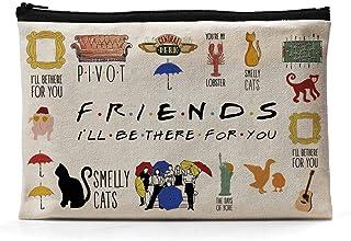 Ihopes Friends Quotes Canvas Zipper Pouch Gift   Friends TV Show Merchandise Pencil Case/Pencil Pouch/Pen Organizer Bag Gi...