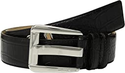 e196538343e1f4 Lauren ralph lauren stretch belt with interlocking buckle