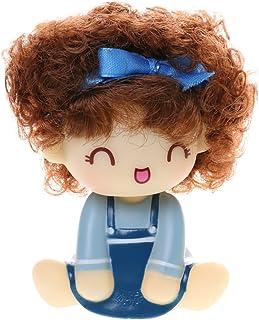 Generic Cute Car Interior Shaking Head Doll Girl Auto Accessories Car Ornament