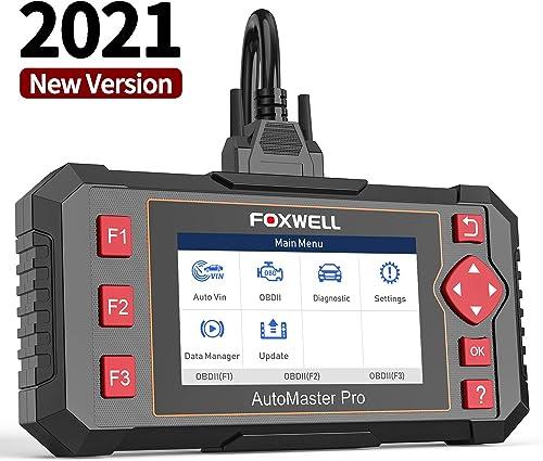 lowest FOXWELL NT301 OBD2 Scanner and NT604 online Elite outlet online sale ABS SRS Transmission, Check Engine Code Reader outlet online sale