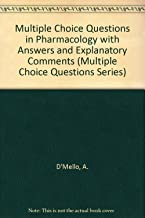 Multiple Choice Questions in Pharmacology (Multiple Choice Questions Series)