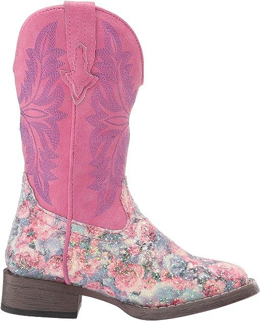 Pink Glitter Vamp/Pink Shaft