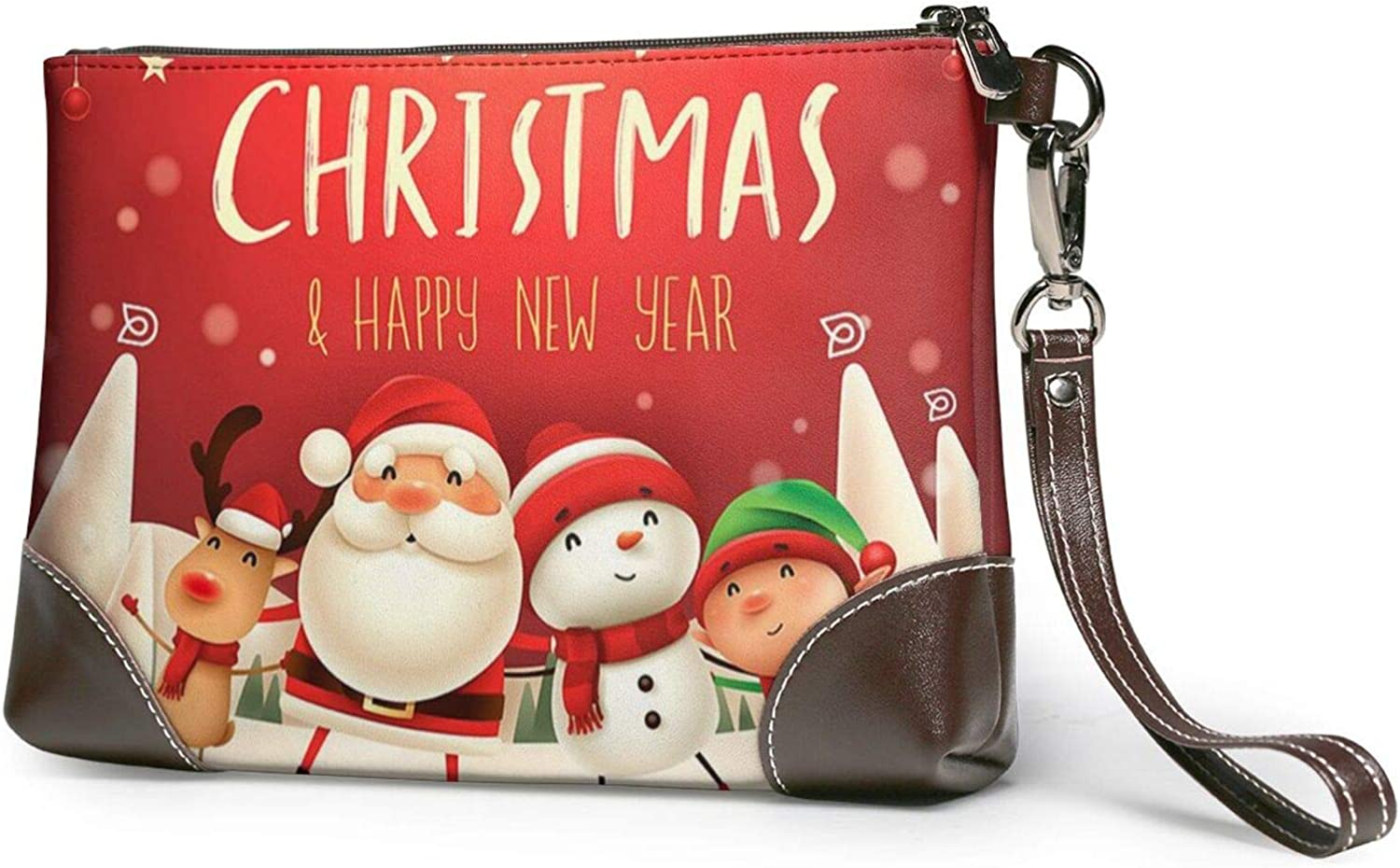 Merry Christmas Clutch Purses Wallet Wristlet Import Leather Sales of SALE items from new works Pur
