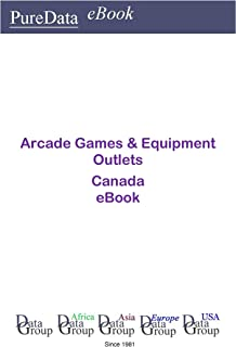 Arcade Games & Equipment Outlets in Canada: Product Revenues (English Edition)