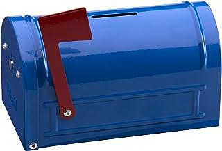 Arregui C-9700Mail Money Box–93x 83x 152mm, Blue Painted Steel
