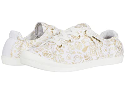 BOBS from SKECHERS Beach Bingo (White/Gold) Women