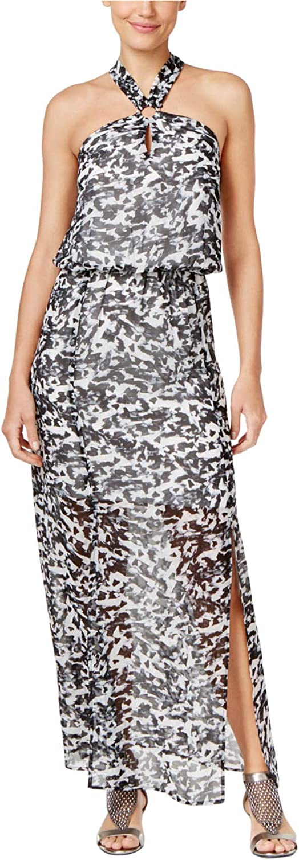 Thalia Sodi Womens Illusion Maxi Dress