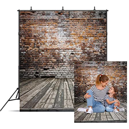 GoHeBe 5x7ft Retro Square Backdrop Grand Vintage Square Photography Background and Studio Photography Backdrop Props LYXC006