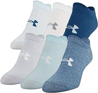 Under Armour Women's Essential No Show Socks, 6-pair