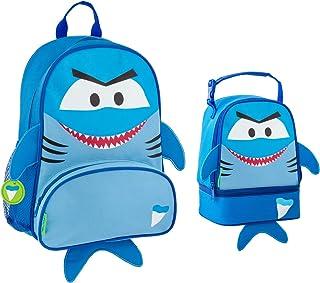 Stephen Joseph Boys Sidekick Shark Backpack and Lunch Pal Combo for Kids