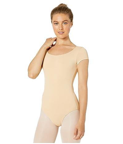Bloch Cap Sleeve Leotard (Nude) Women