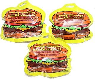 Bob's Burgers 3X Collector Clip Hangers Blind Bags