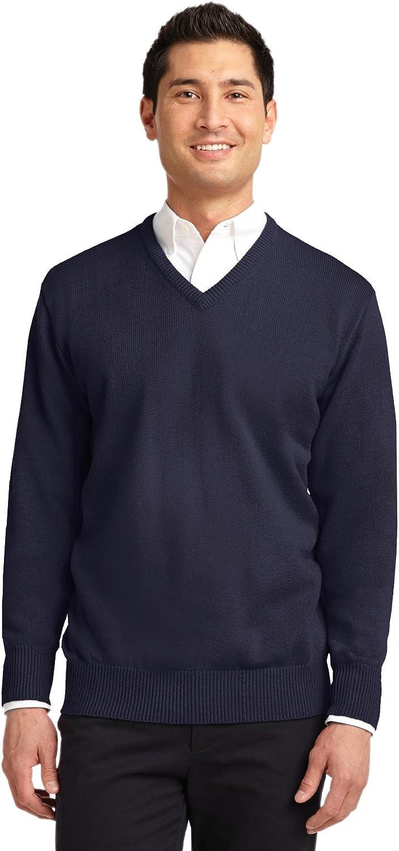 Port Authority Men's Value VNeck Sweater