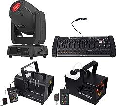 Chauvet DJ Intimidator Spot 475Z 250w Moving Head Light+Controller+Hazer+Fogger