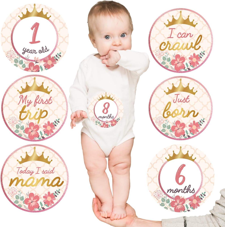 Baby Monthly Milestone Stickers of Belly 20 Nashville-Davidson Mall List price Set
