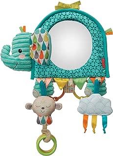 Infantino Baby Going GaGa Elephant Mirror - Teal