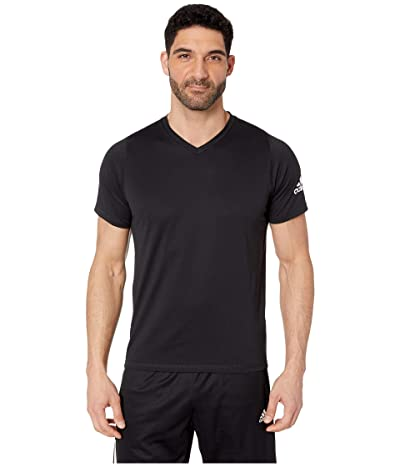 adidas Freelift V-Neck T-Shirt (Black) Men