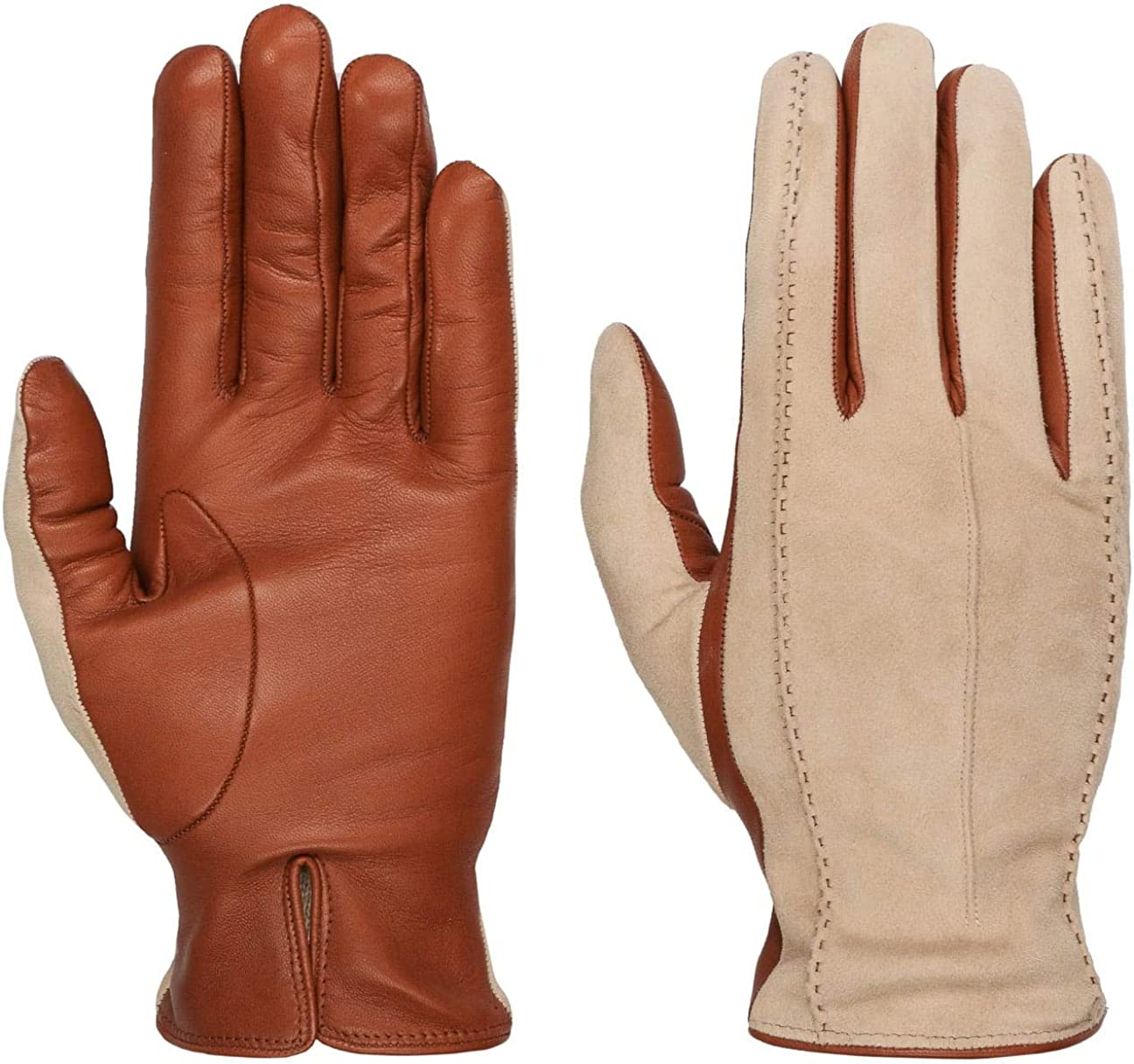 Caridei Classic Twotone Women´s Gloves Women - Made in Italy