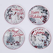 Best christmas painted ceramic plates Reviews