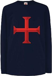 Cencibel Smart Casual Corbata Cruz de Jerusal/én o del Santo Sepulcro