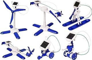 Edu-Toys 6-in-1 Solar Kit  Build 6 Solar Powered Models   No batteries   Sun Powered