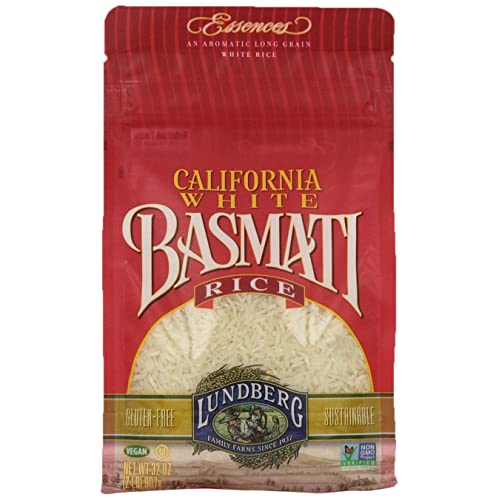 Lundberg Family Farms California Basmati White Rice, 32 Ounce (Pack of 6)
