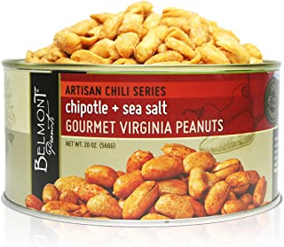 Sponsored Ad - Belmont Peanuts Artisan Chipotle & Sea Salt Gourmet Virginia Peanuts, 20oz