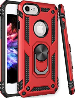 Universal for iPhone 6 6s Case,iPhone 7 Case,iPhone 8 Case,ZADORN 15ft Drop Tested Military Grade Heavy Duty Shockproof Slim Fit Protective Phone Case for iPhone 6 6S/iPhone 7/iPhone 8 Red