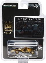 Indy Car Mario Andretti 50th Anniversary 1969 Indianapolis 500 Champion Dallara Universal Aero Kit Tribute IndyCar 1/64 Diecast by Greenlight 10853