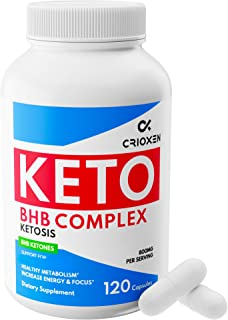 Keto Pure Diet Pills [120 Capsules] - Advanced Keto Supplement Pure BHB Exogenous Instant Ketones Salts to Kickstart Ketosis Boost Energy and Focus for Men and Women