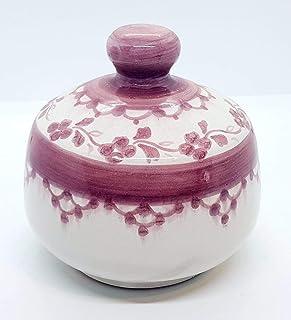Nascondispugna Linea Classica Rosa per Cucina e Bagno Handmade Le Ceramiche del Castello 100% Made in Italy