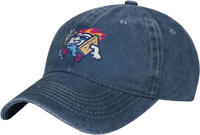 Rocky Mountain Vibes Hats for Men Women College Team Logo Vintage Adjustable Washed Baseball Cap
